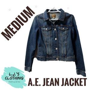 American Eagle Jean Jacket Denim Medium